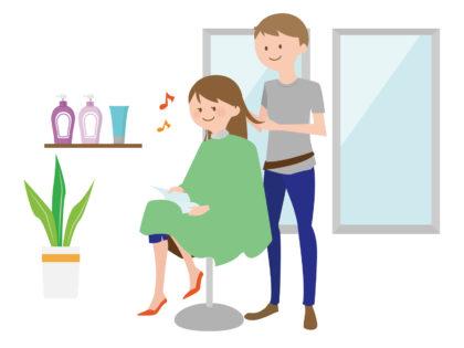 美容師 美容院